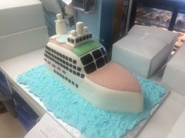 3D Mini Cruise Ship